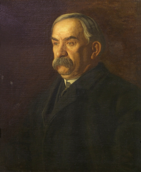 """James A. Flaherty"" (1903) by Thomas Eakins"